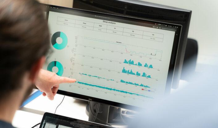 Epilog advanced EEG analysis sleep staging